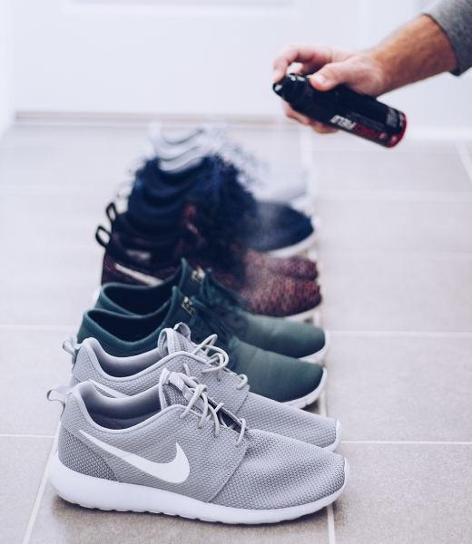 Keep your sneaker collection clean and pristine with ForceField Protector spray